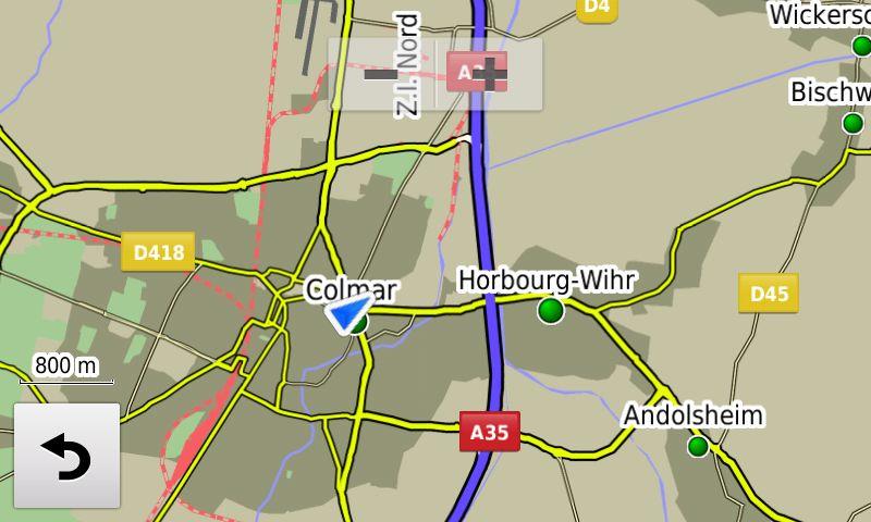 Zumo-Farben-D-Straßen